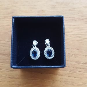 Stauer Blue Hope Earrings